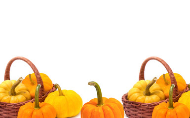 Fresh pumpkin ,food background