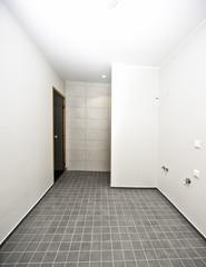 Empty batroom interior