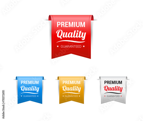 Fototapeta Premium Quality Labels