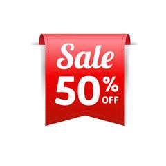 Sale 50% Off Label