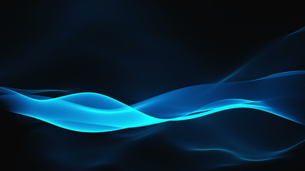 abstract background - waves (loopable)