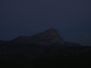 Nightfall in Provence