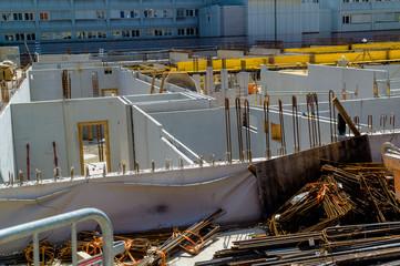 Baustelle Rohbau Keller