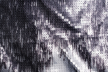 Fabric background with sequins