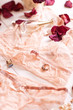 Tenderness peachys lingerie with roses petails, candle and acces - 78375010