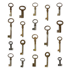 collection de clefs