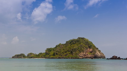 Island on summer in Thailand Asia