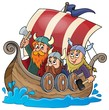 Viking ship theme image 1 - 78375662