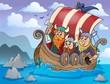 Viking ship theme image 2
