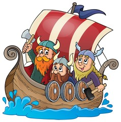 Viking ship theme image 1