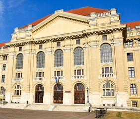 Building of the University, Debrecen city, Hungary