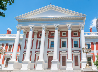 Parliament building in Cape Town