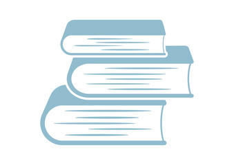 Book vector icon on white background