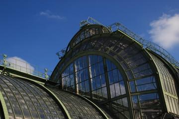 Vienna Greenhouse in burggarten (close-up)