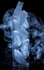 Glass and Ice