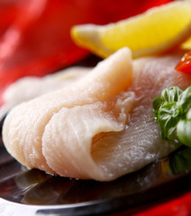Fresh pangasius fish.