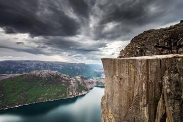 Prekestolen in Norwegen