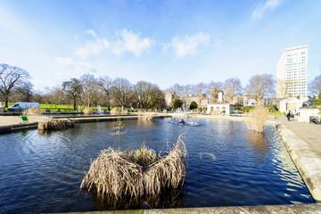 Little lake in hyde park