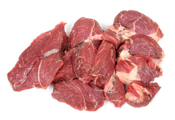 Red cow meat