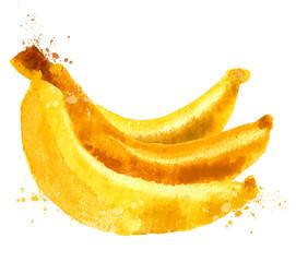 bananas vector logo design template. nutrition or food  icon.
