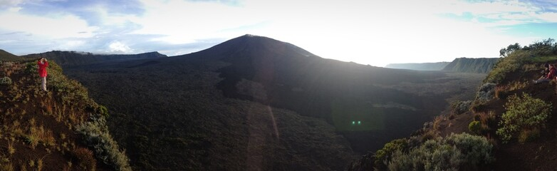 panorama volcan