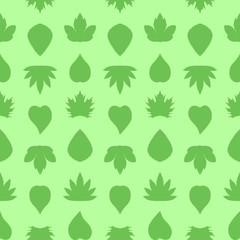 Saemless leaves pattern