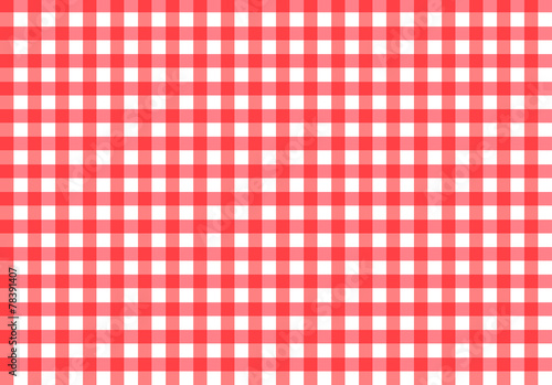Fotobehang Kunstmatig Tablecloth texture-checked fabric seamless pattern