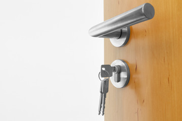 offen Tür mit Schlüssel © Matthias Buehner