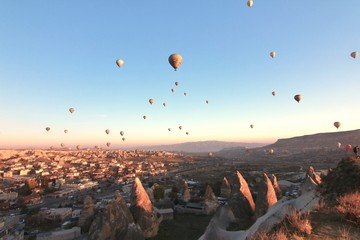 One of the wonders of the world ,Cappadocia, Turkey