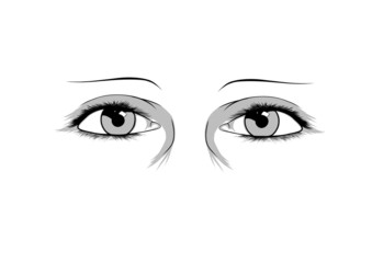 Illustration of eyes