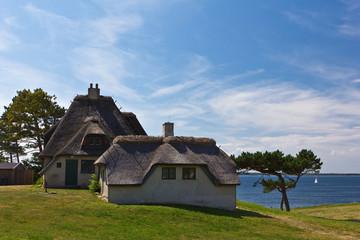 Knud Rasmussens Haus mit Blick auf Kattegat