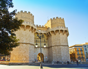 torres de un castillo