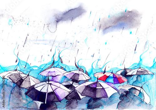 rain © okalinichenko