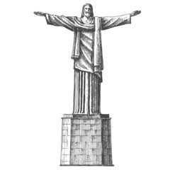 Brazil vector logo design template. architecture or South