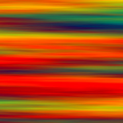 Colorful Horizontal Abstract Art Background - Artistic Red Green