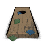 Old Cornhole set