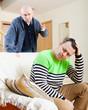 disgruntled men