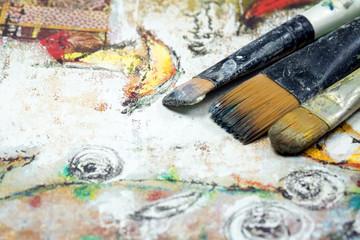Yağlı boya resim fırçası