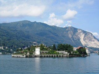 Borromäische Insel Isola Bella - Lago Maggiore - Italien