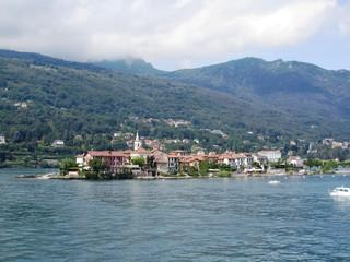 Borromäische Insel Isola Pescatori - Lago Maggiore - Italien