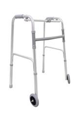 Adjustable walker for elderly, disabled