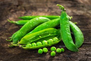 Fresh Homemade Peas