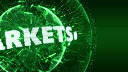World News market markets Internet Intro Teaser green
