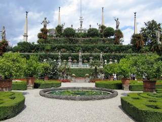 Im Garten Borromäische InseI Isola Bella - Lago Maggiore Italien
