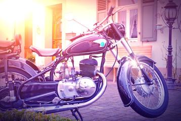 Altes Deutsches Motorrad - 50's Oldtimer - German Motorcycle