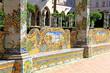 Napoli; Monastero di santa Chiara, chiostro - 78405213