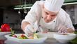 canvas print picture - preparing food