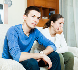 Depressed guy with aggressive wife