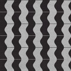 vintage zig zag pattern - seamless background - leather surface