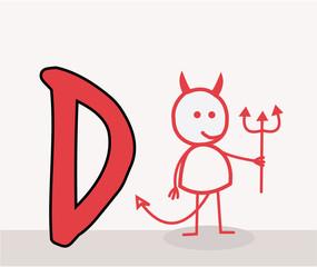 D for Devil
